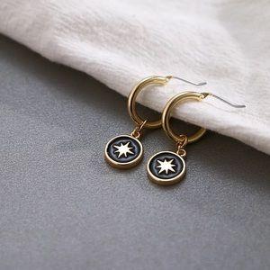 Starry night earrings 🌠
